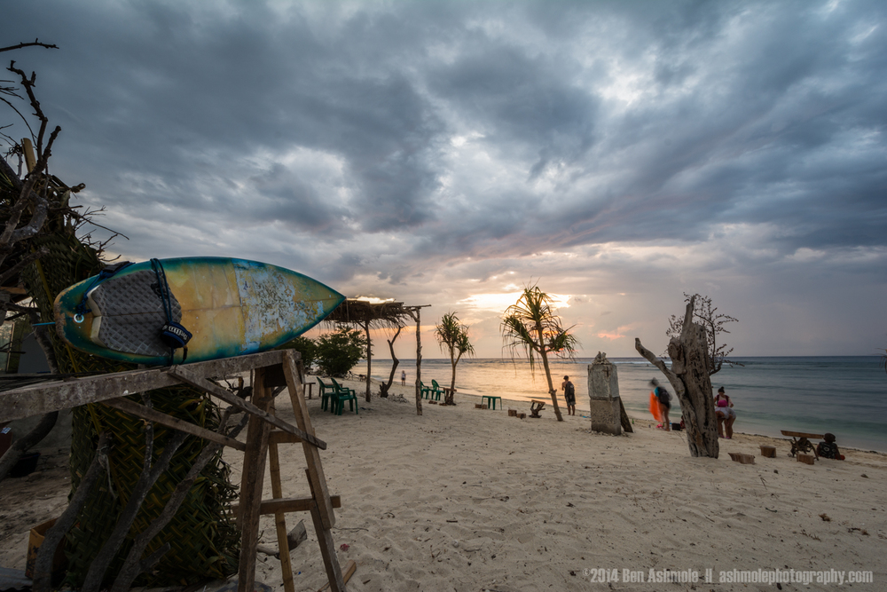 Incoming Storm, Gili Trawangan, Indonesia