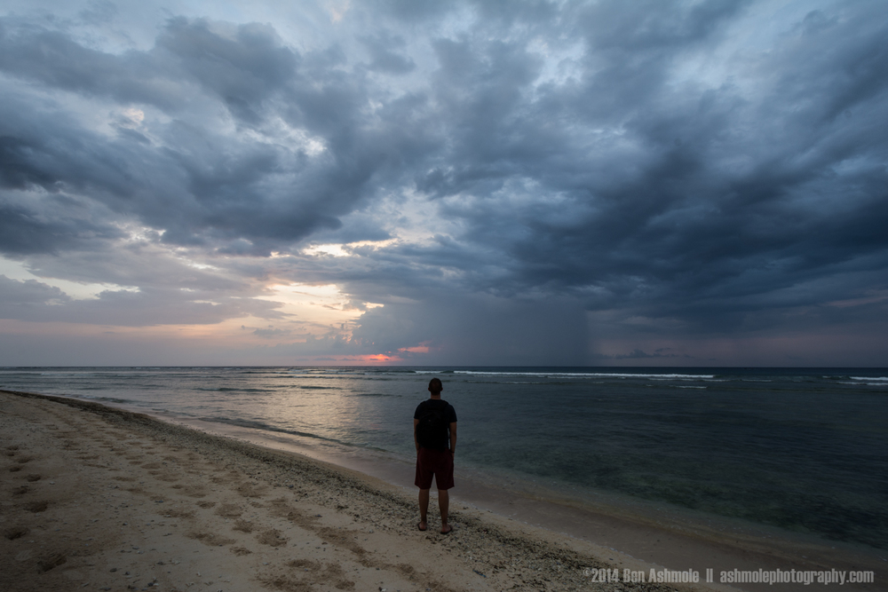 Watching The Storm, Gili Trawangan, Indonesia