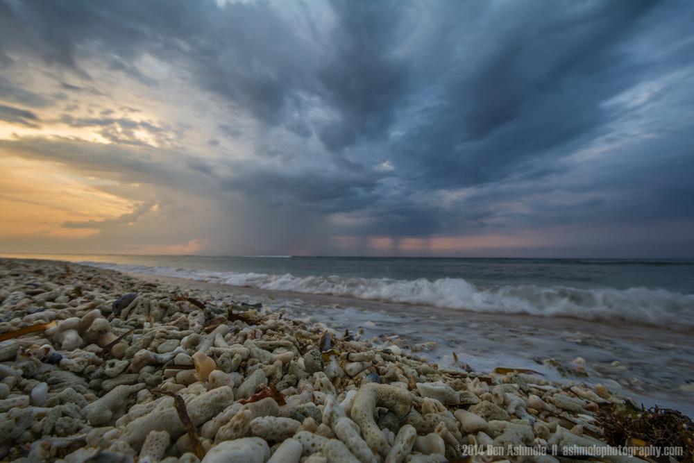 Coral Beach Storm, Gili Trawangan, Indonesia