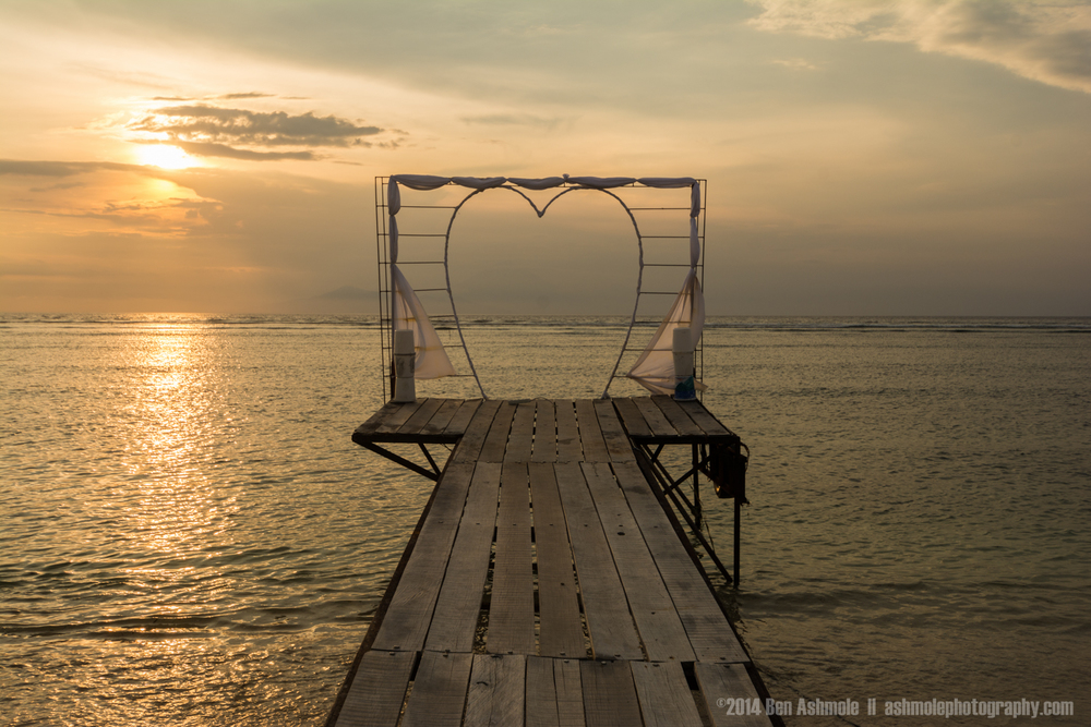 Lover's Jetty, Gili Trawangan, Indonesia