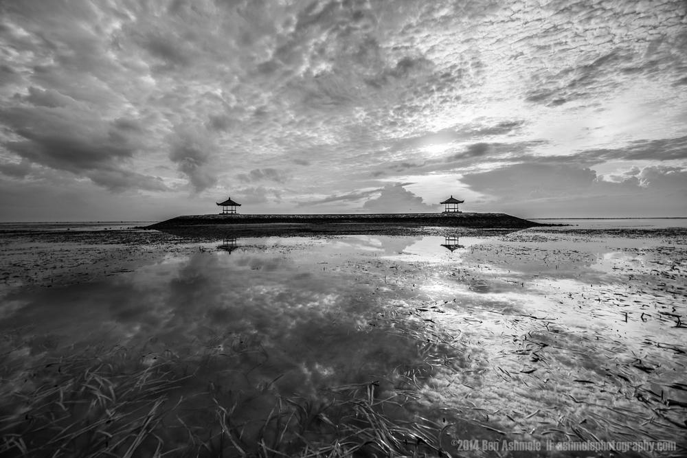 Bali Hut Island, Sanur, Bali, Indonesia