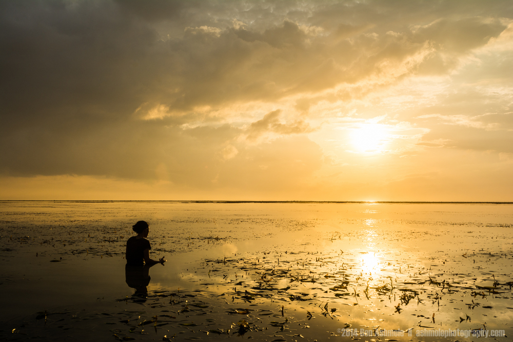 Sunrise Meditation, Sanur, Bali, Indonesia