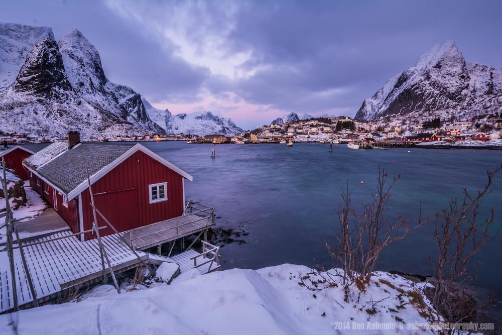 Reine Fjord, Lofoten Islands, Norway