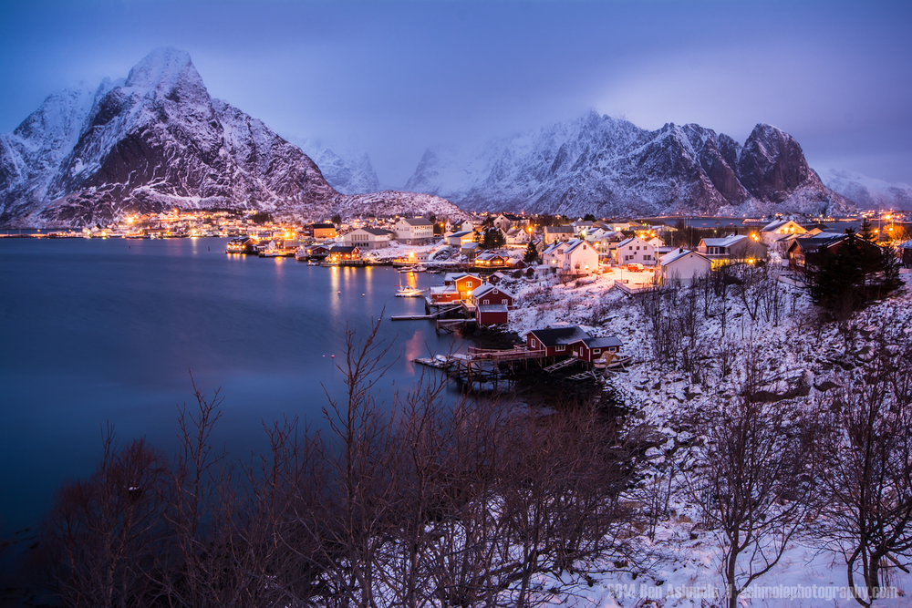 Reine Blue Hour, Lofoten Islands, Norway