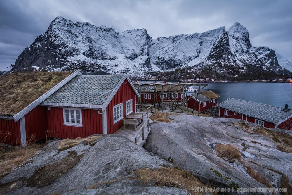 Fisherman's Cabins, Reine, Lofoten Islands, Norway
