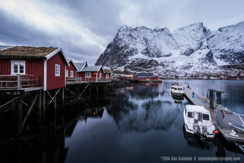 Fisherman's Cabins, Lofoten Islands, Norway