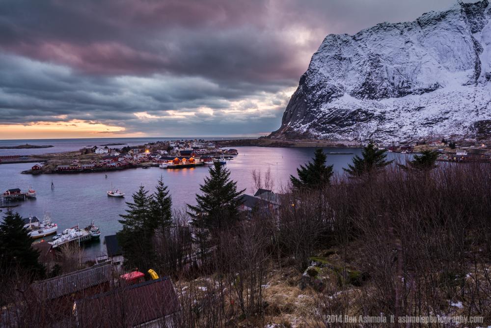 Reine From The Hill, Lofoten Islands, Norway