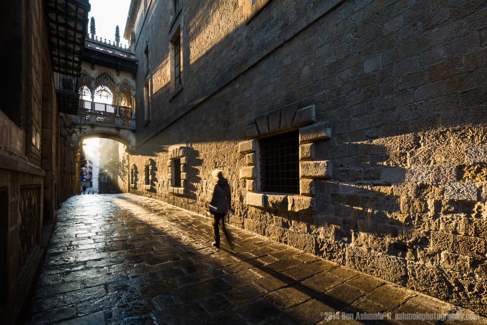 Morning Light, Barcelona, Spain