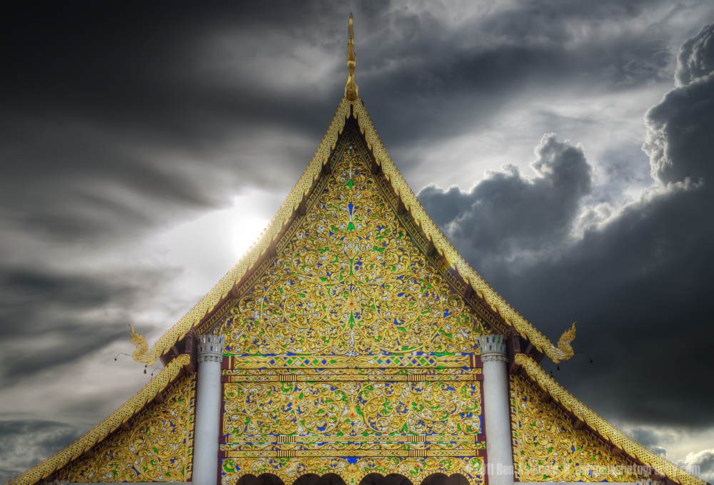 The Temple Roof, Chiang Mai, Thailand, Ben Ashmole