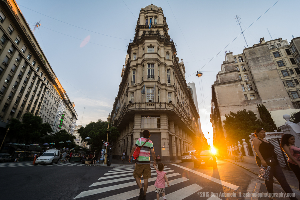 Street Crossing, Buenos Aires, Argentina