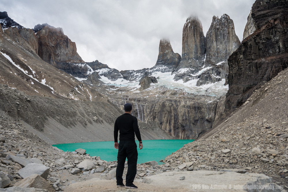 Watching Las Torres, Torres Del Paine, Patagonia, Chile