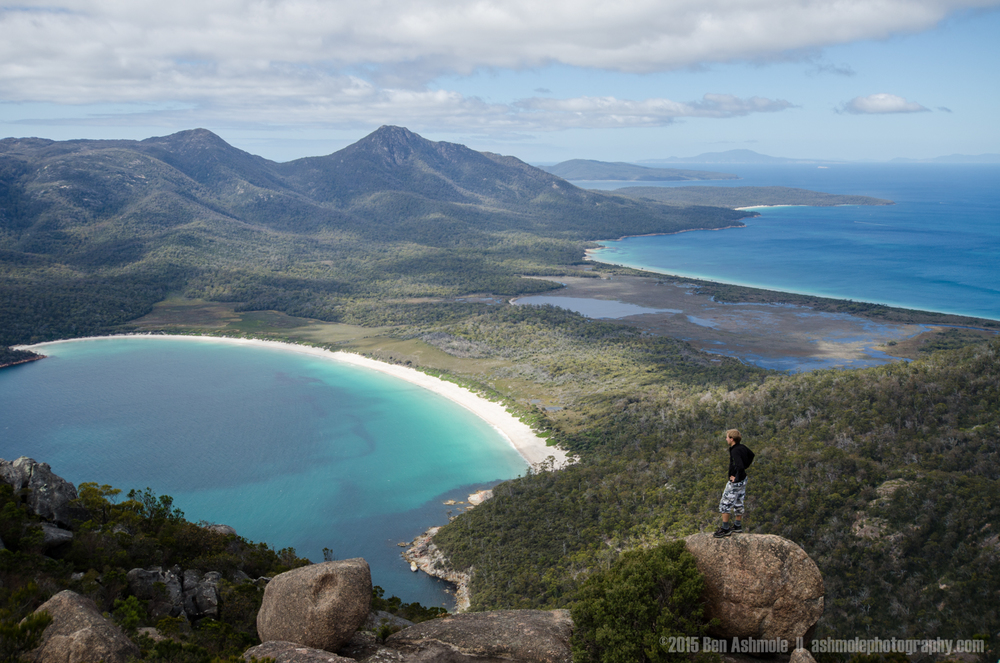 Wine Glass Bay Climber, Tasmania, Australia
