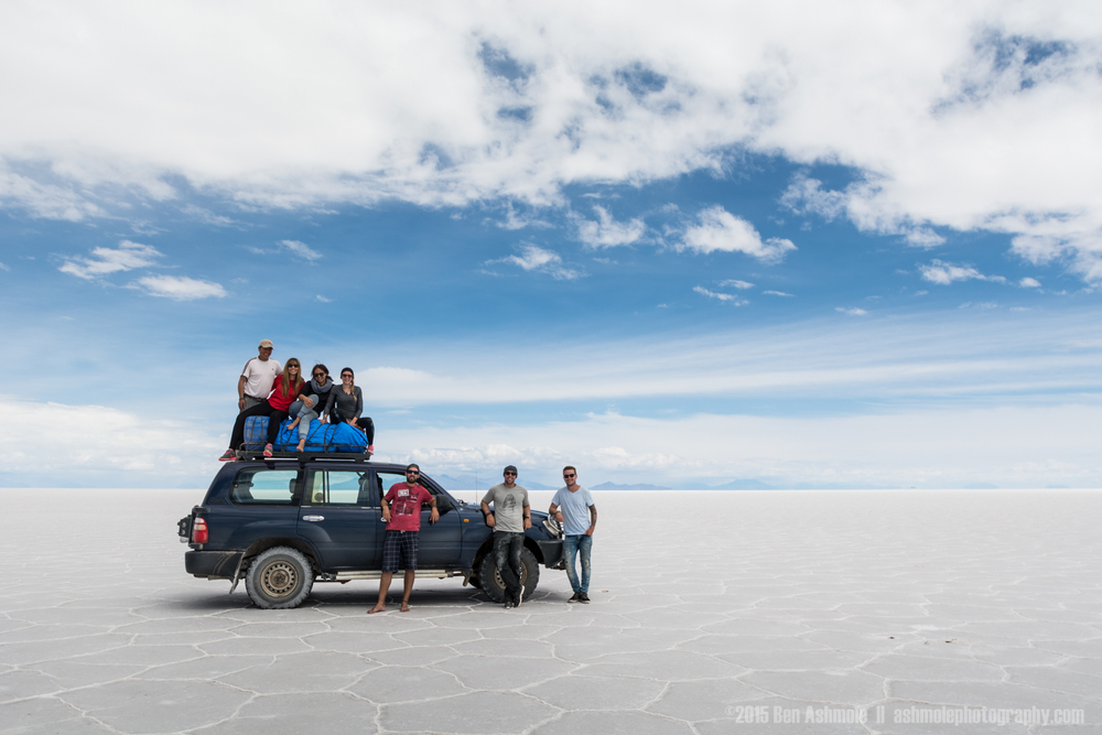 Uyuni Tour Group With 4x4, Uyuni Salt Flats, Bolivian Highlands