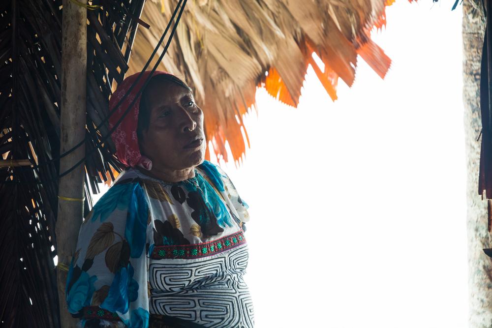 Kuna Woman 2, San Blas, Panama