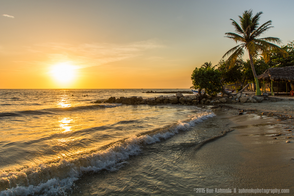 Beach Sunset, Rincon Del Mar, Colombia