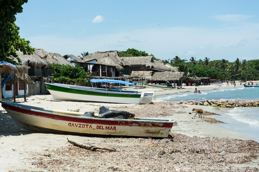 Beached Fishing Boats, Rincon Del Mar, Colombia