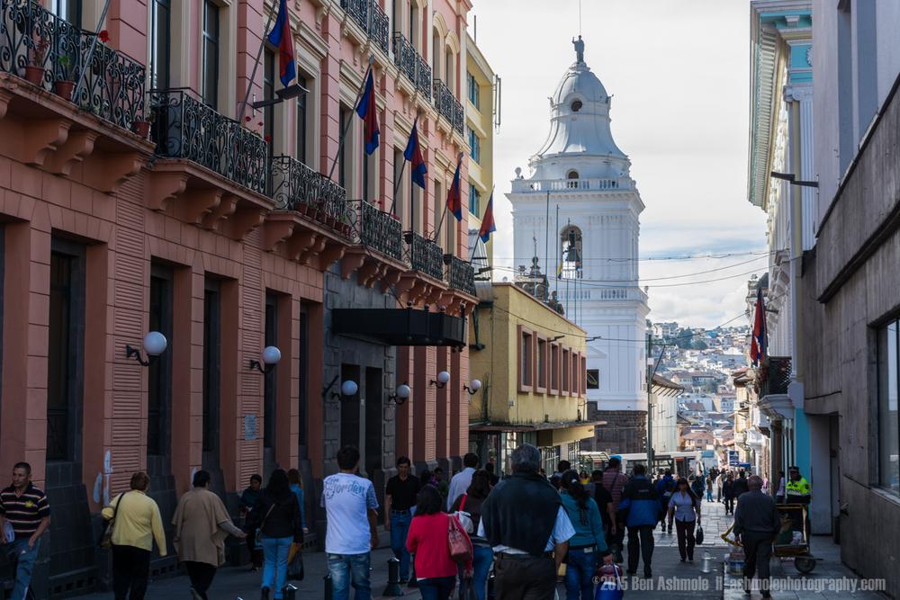 Quito Street, Ecuador