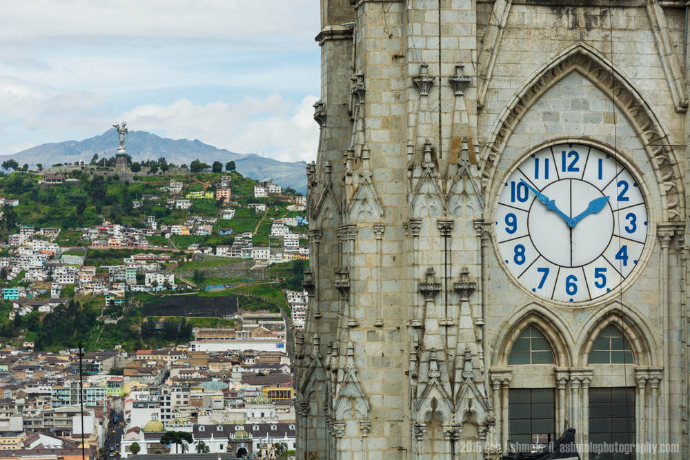 The Time In Quito, Ecuador