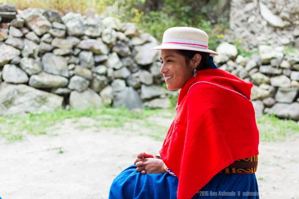 Quechuan Woman 2, Alausi, Ecuador