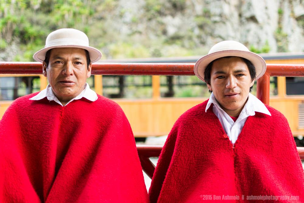Quechuan Men, Alausi, Ecuador