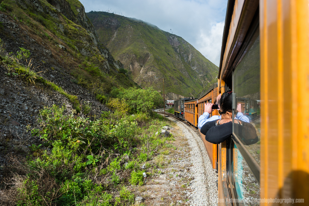 The Devil's Nose Train 3, Alausi, Ecuador