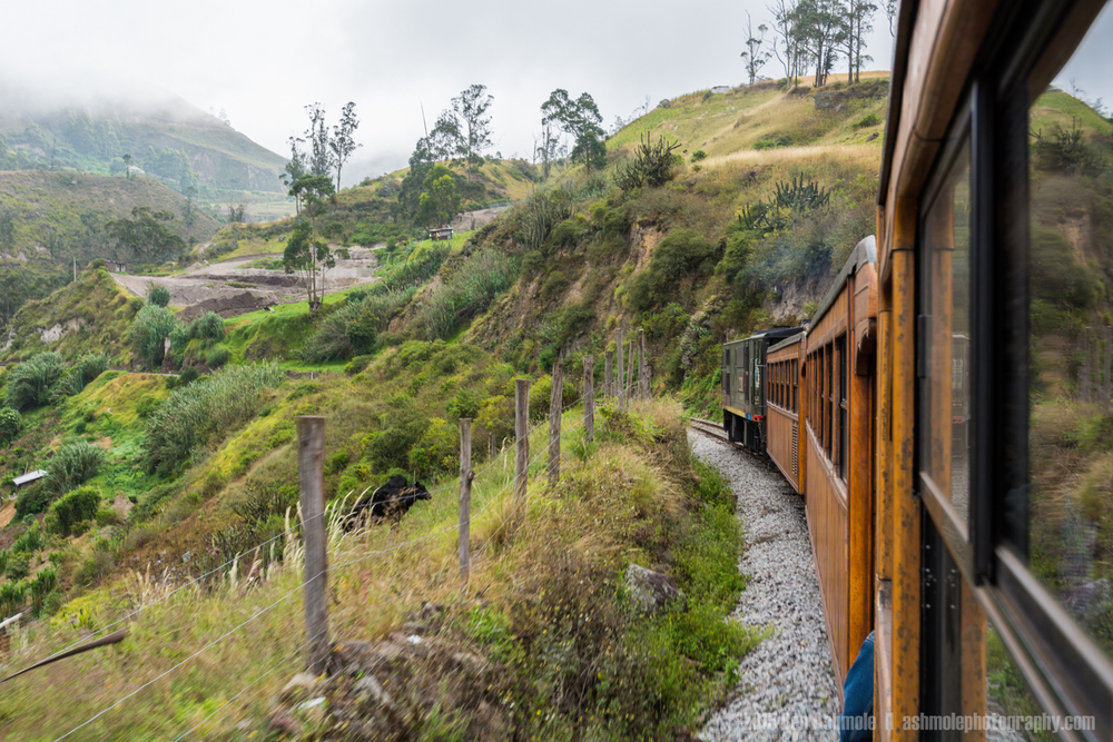 The Devil's Nose Train, Alausi, Ecuador