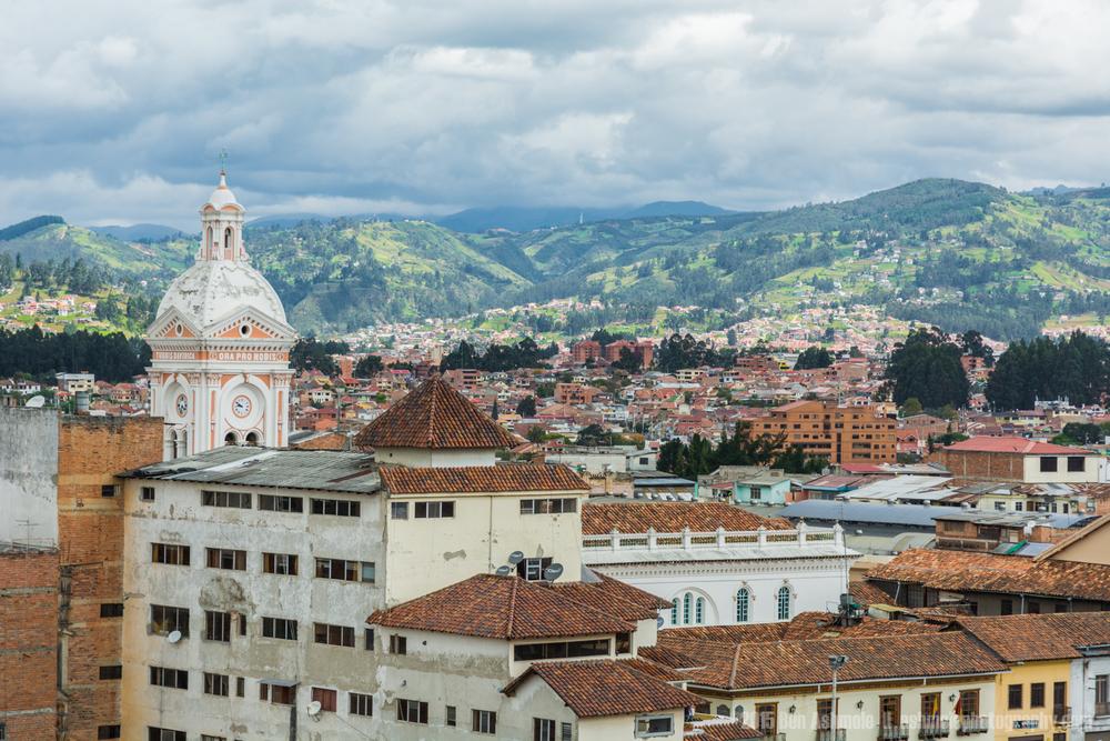 Cuenca Cityscape 2, Ecuador