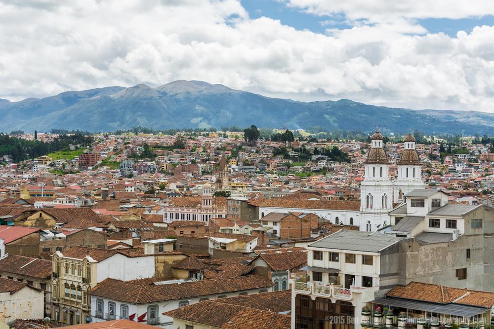 Cuenca Cityscape, Ecuador