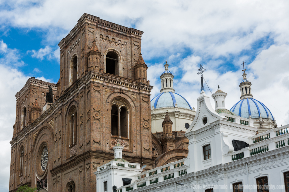 Catedral De La Inmaculada Conception, Cuenca, Ecuador