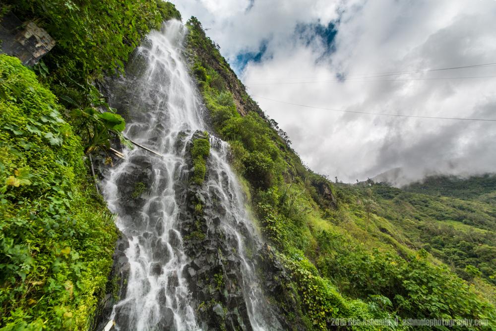 Forest Waterfall, Baños, Ecuador