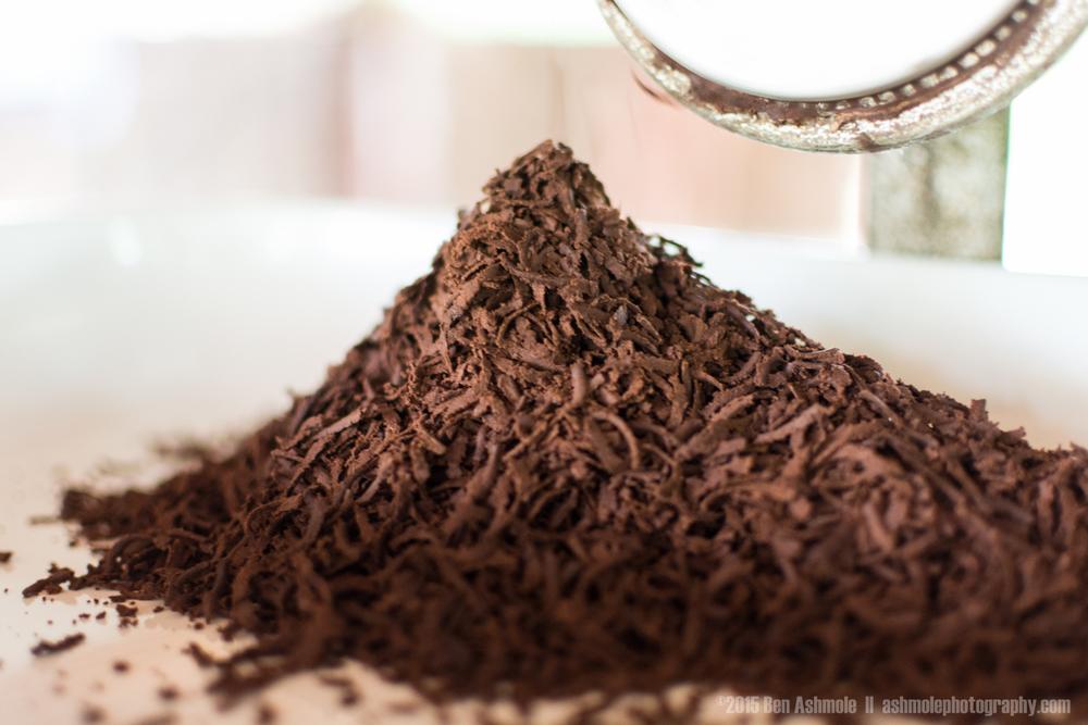 Fresh Grated Cacao, Tena, Ecuador