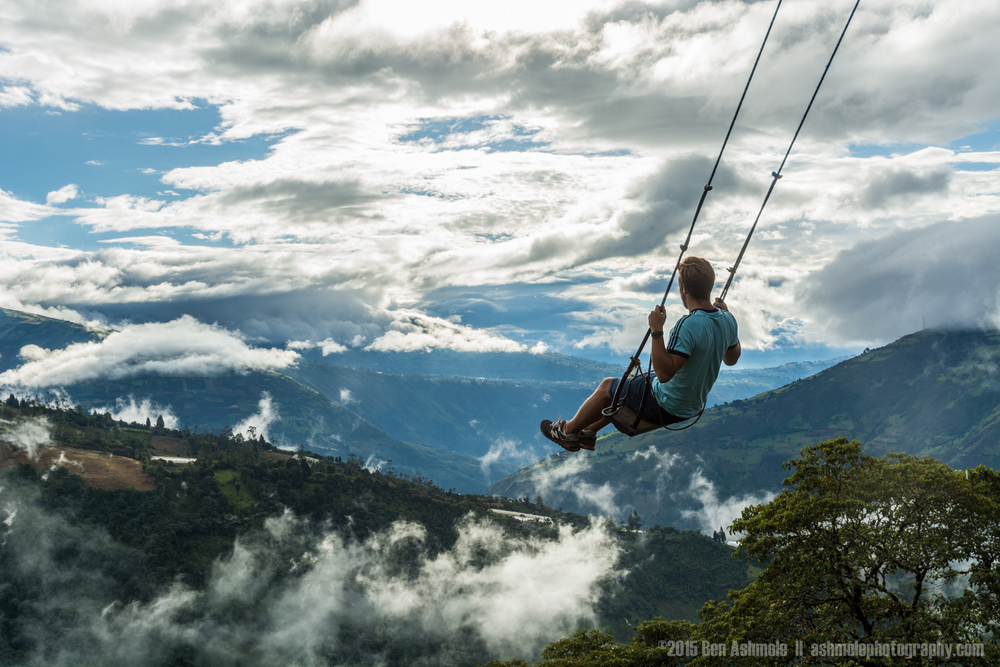 Swinging Over The Jungle 2, Baños, Ecuador