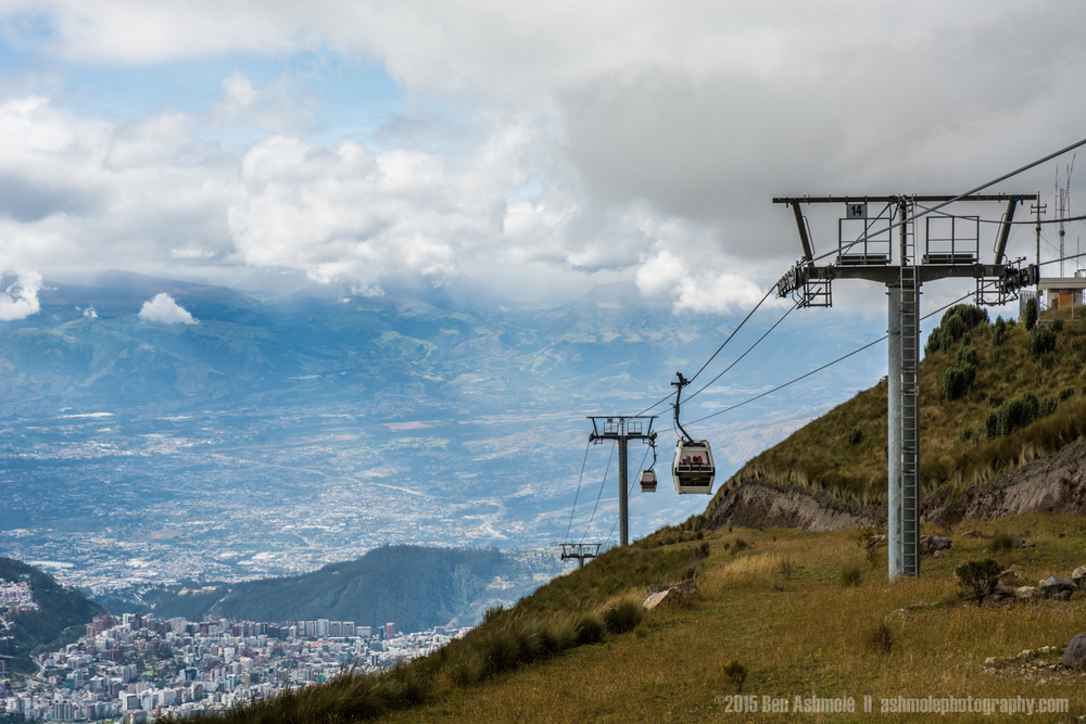 The Teleferico, Quito, Ecuador