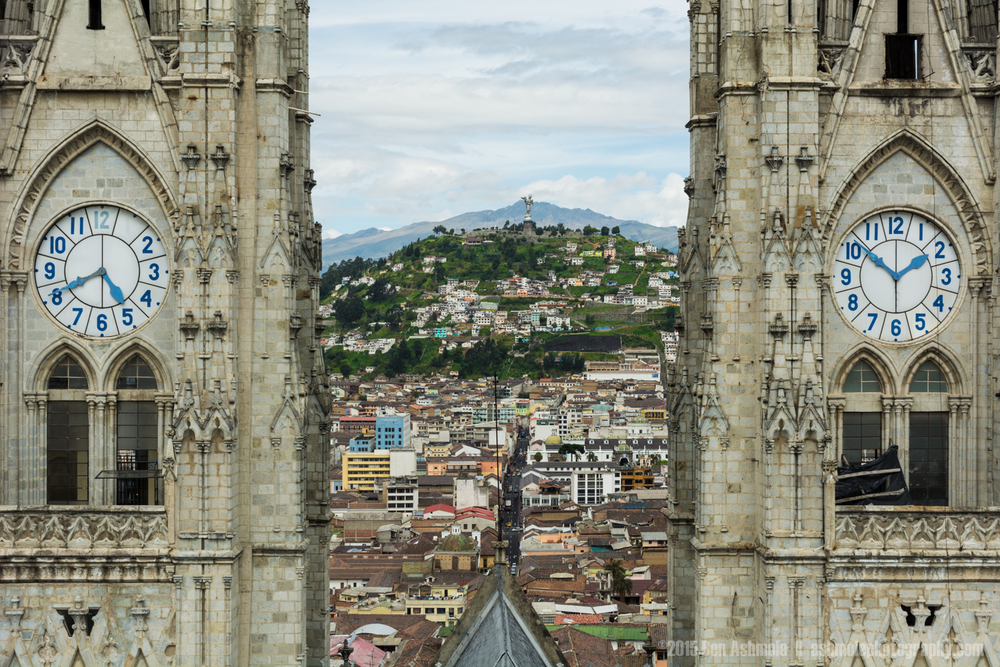 Through The Towers, Quito, Ecuador