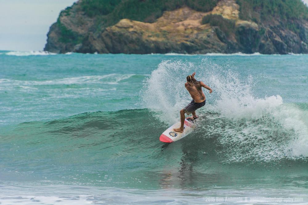 Costa Rican Surfer, Manuel Antonio, Costa Rica