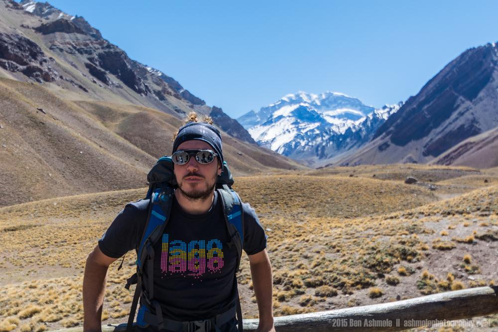 Hiker Portrait, Cerro Aconcagua, Argentina