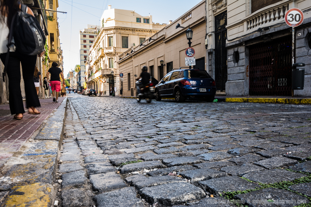 Streets Of San Telmo, Buenos Aires, Argentina