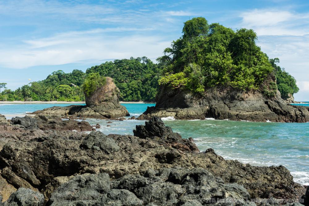Rocky Coast, Manuel Antonio, Costa Rica