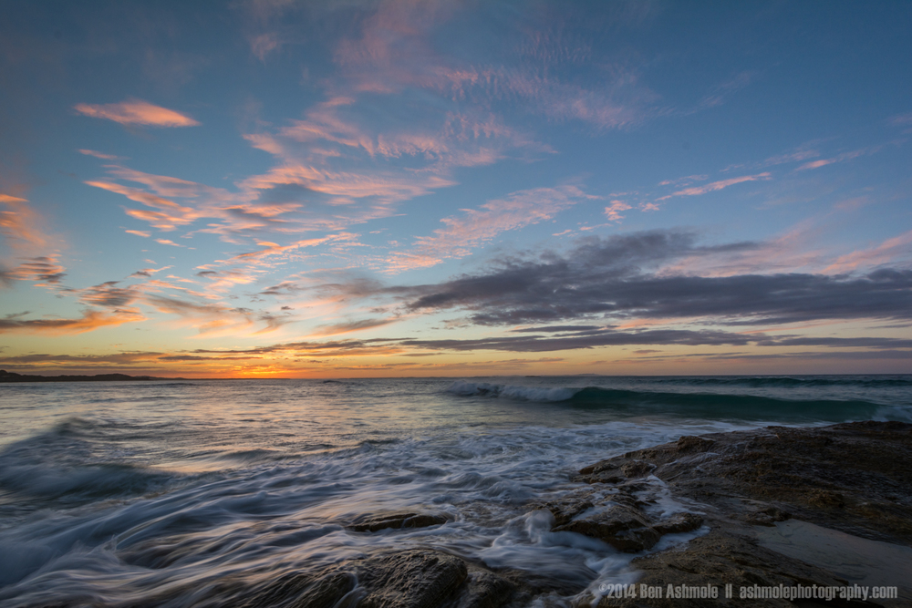 After Sunset, North Stradbroke island, Queensland, Australia