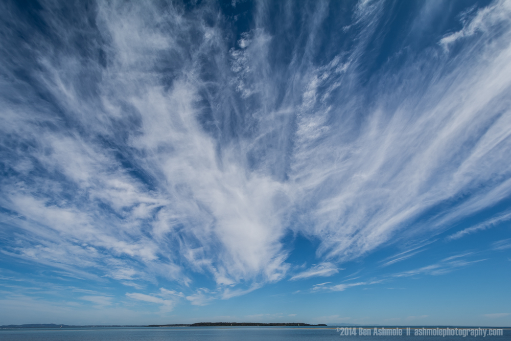 Cloudy Sky, North Stradbroke Island, Queensland, Australia