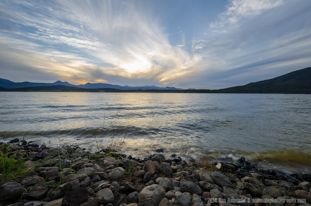Sunset By Lake Moogerah, Queensland, Australia
