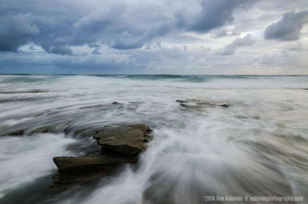 Movement Of The Tide, Dicky Beach, Queensland, Australia