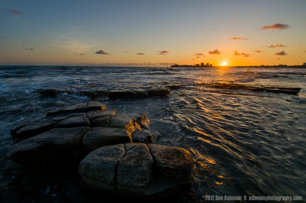 Tidal Sunrise, Maloolaba, Queensland, Australia, Ben Ashmole