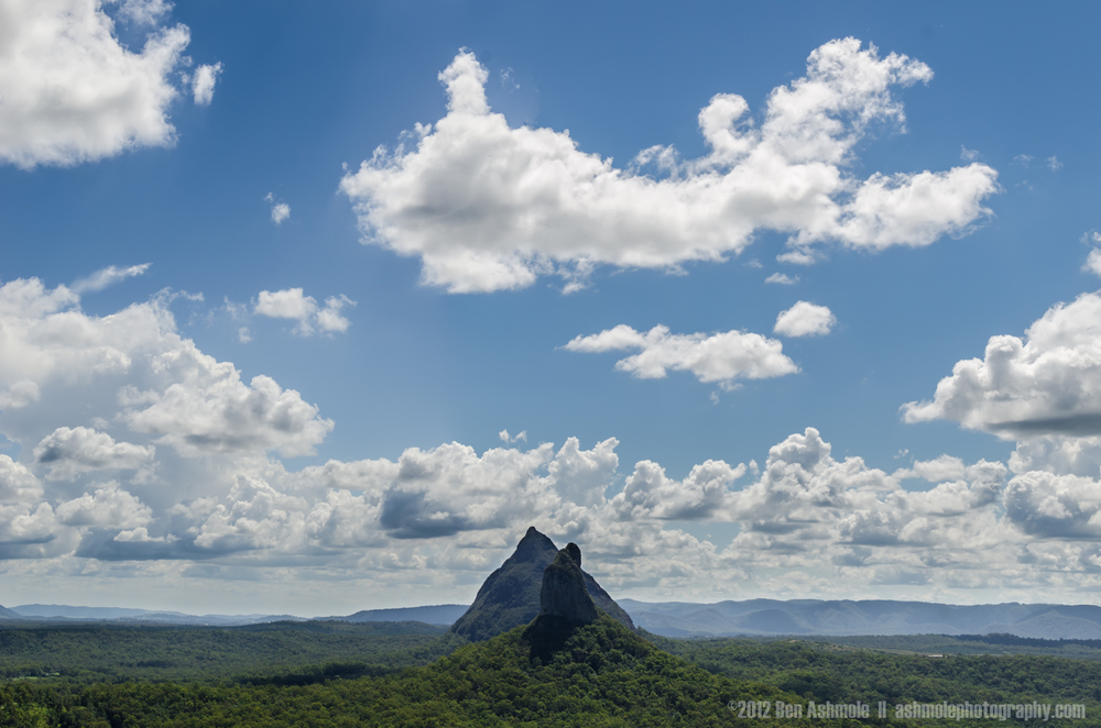 Mt Beerwah, Glasshouse Mountains, Queensland, Australia
