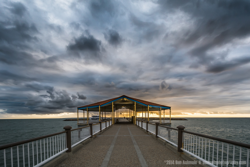 Jetty In A Storm, Redcliffe, Brisbane, QLD, Australia