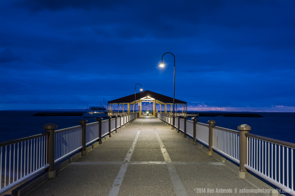 Blue Hour On The Jetty, Redcliffe, Brisbane, Australia