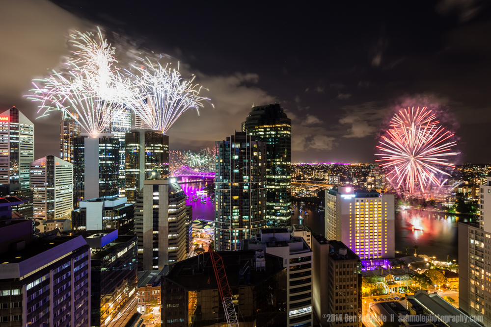 Riverfire 2014, Brisbane, Queensland, Australia