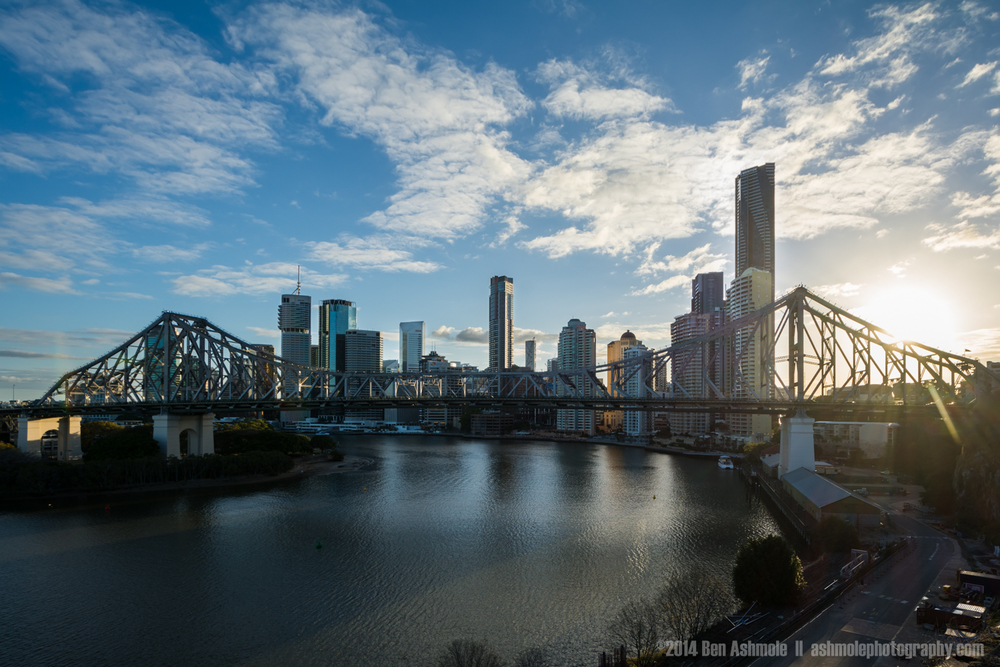 Brisbane Sunset, Queensland, Australia