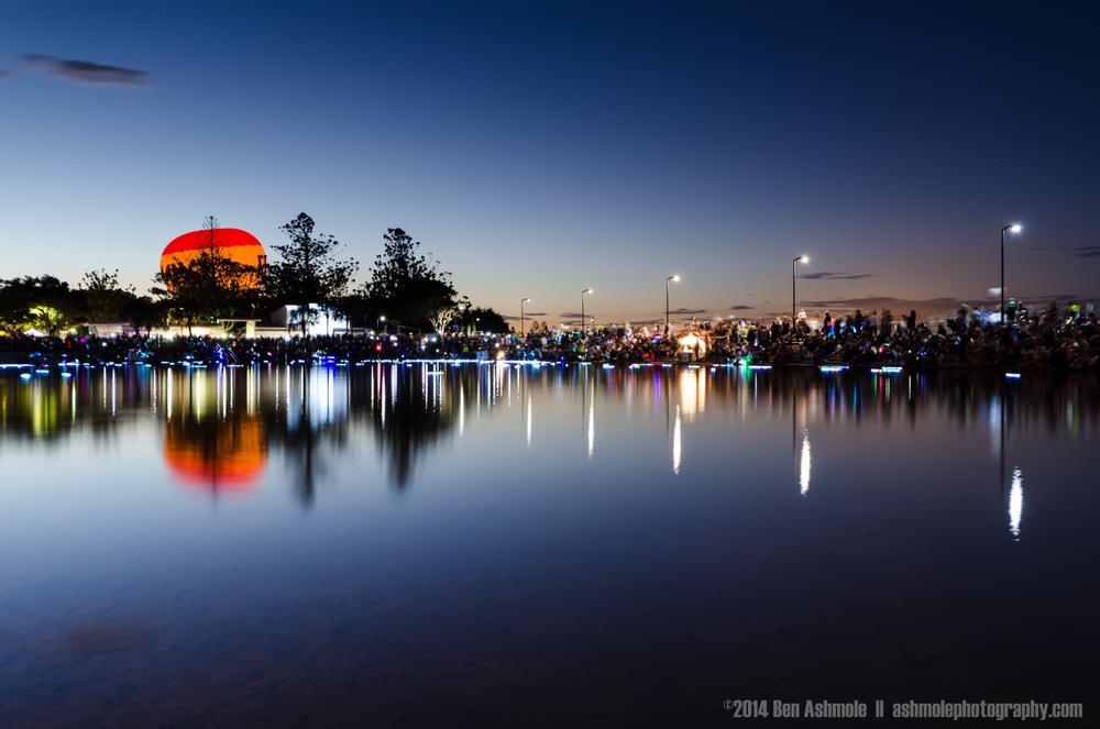 Illuminations Festival, Wynnum, Brisbane, Australia