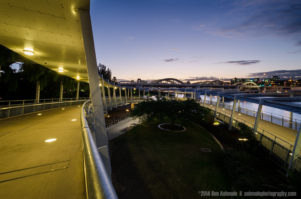 Curved Walkway, Brisbane, Australia